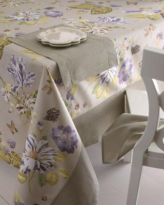 KAREN LEE BALLARD Four Checkmate Napkins traditional-napkins