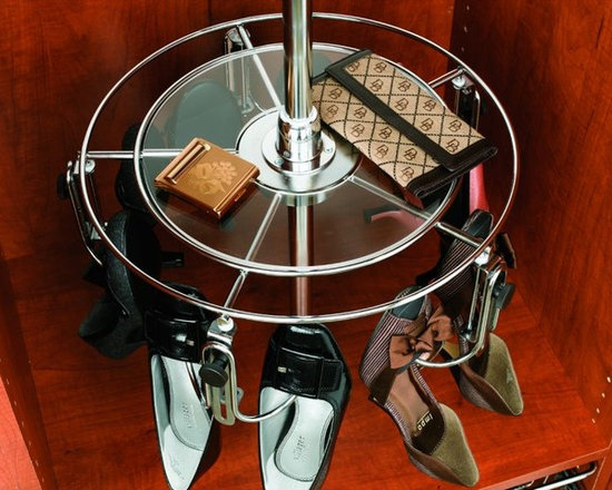 Product & Accessory Ideas - Rotating shoe rack