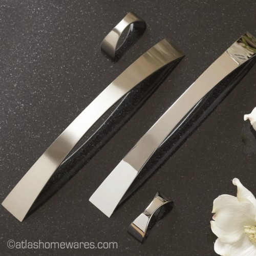 Sleek cabinet-and-drawer-handle-pulls