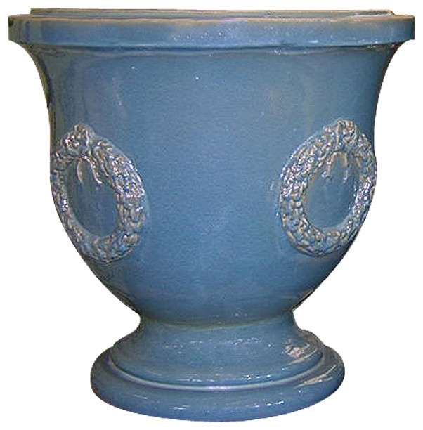 Gladding McBean Country French Vase contemporary-outdoor-planters