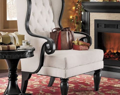 Wingback Chair, Orleans eclectic-accent-chairs