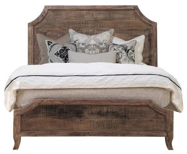 Aria Queen Bed- Reclaimed Wood Bed eclectic-beds