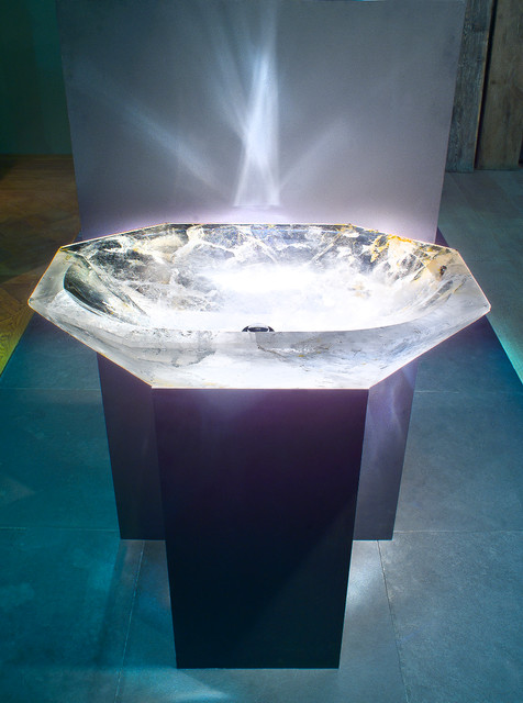 BASIN,luxury stone basin,stone basin,rock crystal - Modern - Bathroom ...