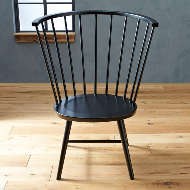 Riviera Windsor Side Chair Black High Contemporary  : contemporary dining chairs from www.houzz.com size 640 x 640 jpeg 95kB