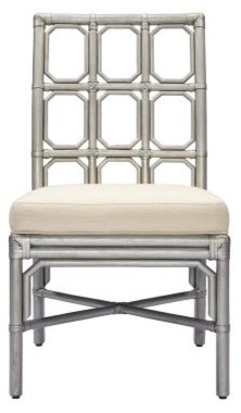 Brighton Side Chair - Silver modern-dining-chairs