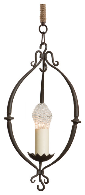 durham french country wrought iron mini pendant
