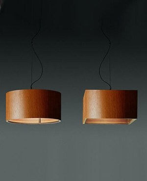 Wood pendant light - modern - pendant lighting - by Interior Deluxe