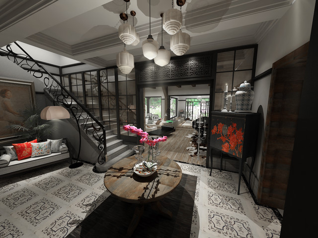 VINTAGE SUZHOU HOUSE eclectic 