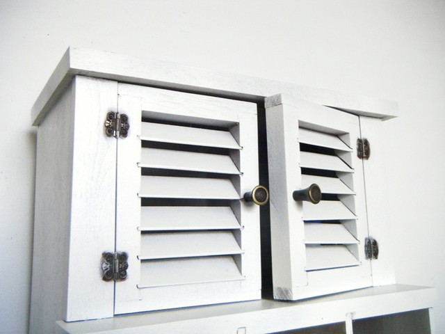 Wooden Curio Cabinet Upcycled - Eclectic - Filing Cabinets - columbus - by City Girls Decor
