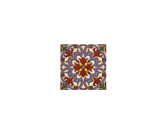 Handpainted Ceramic Old California Mission Tile Collection - Item CA22
