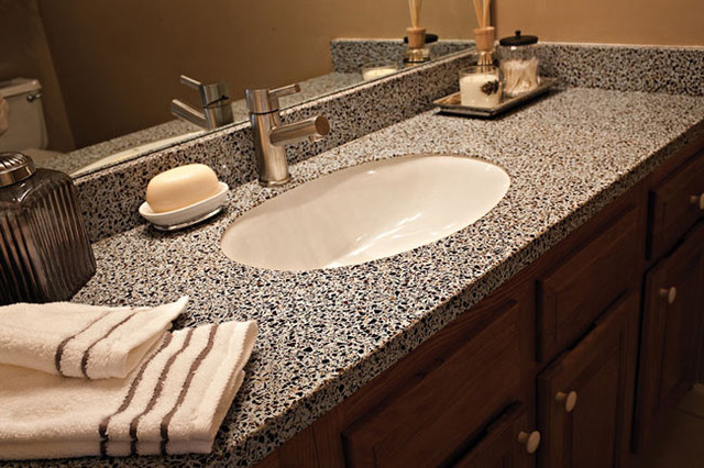 Granite Transformations Bathroom Remodels contemporary-vanity-tops-and ...
