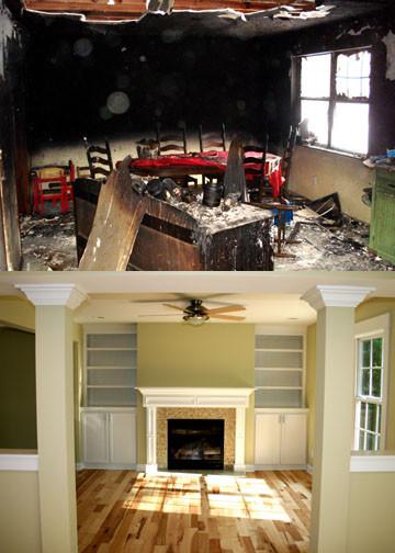 Teel Way Fire Restoration modern