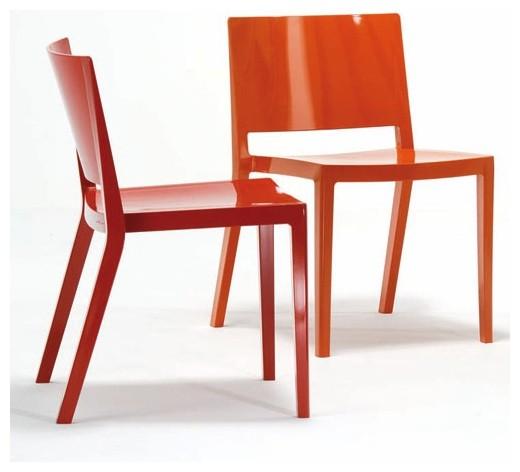 Kartell Lizz Chair modern-living-room-chairs