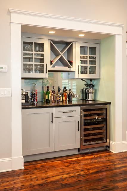 Historic Whole House Renovation - Bar craftsman