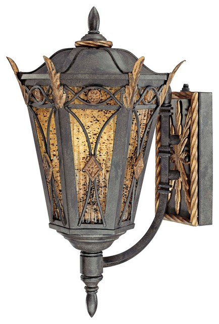 """Metropolitan Monte Titano 18 1/2"""" High Outdoor Wall Light traditional-outdoor-wall-lights-and-sconces"""