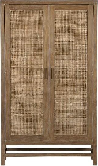 Blake Grey Wash 2-Door Cabinet | Crate&Barrel tropical-dressers-chests ...