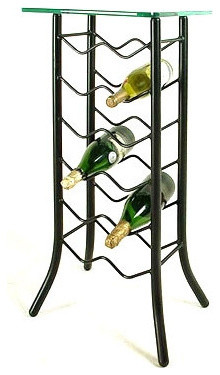 12 Bottle Wine Rack modern-wine-racks