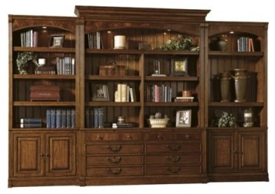 Sligh Northpoint Bookcase Wall Unit with Drawer File - Modern - Bookcases - by Hayneedle