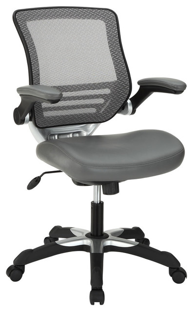 Modway EEI-595 Edge Office Chair in Gray modern-task-chairs