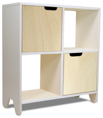 Hiya Book Shelf, Birch modern-bookcases
