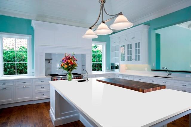 Arctic white kitchen countertops other metro by m s for Arctic white kitchen cabinets