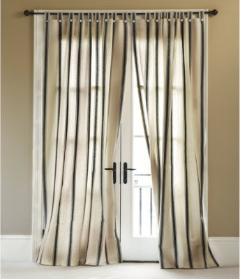 Curtains Ideas brown white striped curtains : Stripes Curtains - Curtains Design Gallery