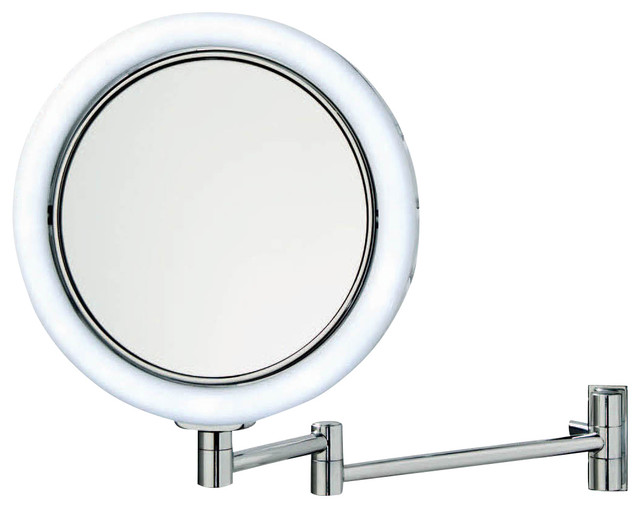 smile 702 illuminated magnifying mirror contemporary