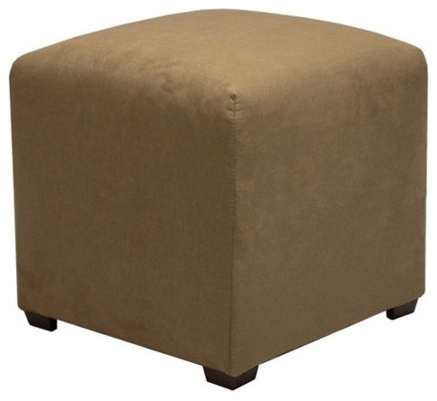 Tyler Upholstered Cube Ottoman contemporary-ottomans-and-cubes