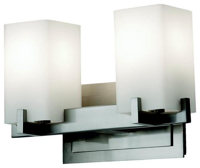 murray feiss lighting vs18402 bs riva two light bath vanity. Black Bedroom Furniture Sets. Home Design Ideas