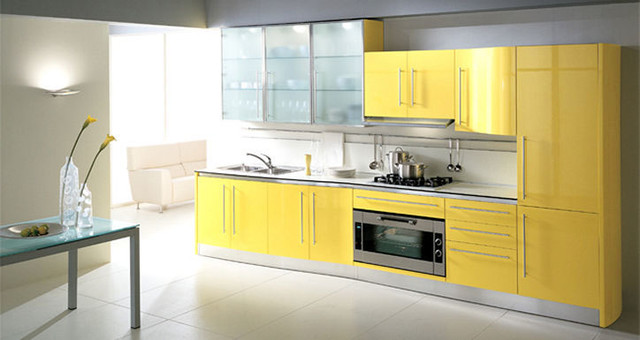 Butterfly Lacquer Kitchen Cabinets By Fiamberti Modern Kitchen