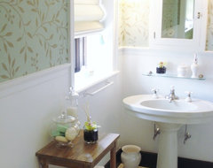 2011 Designer's ShowHouse- Portland, Maine traditional bathroom