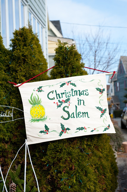 Christmas in Salem, MA traditional