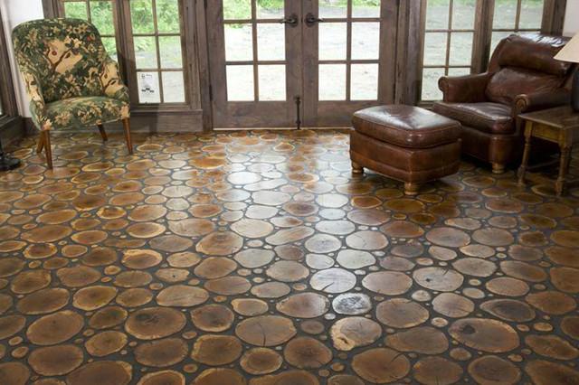 Logs & Twigs flooring hardwood-flooring