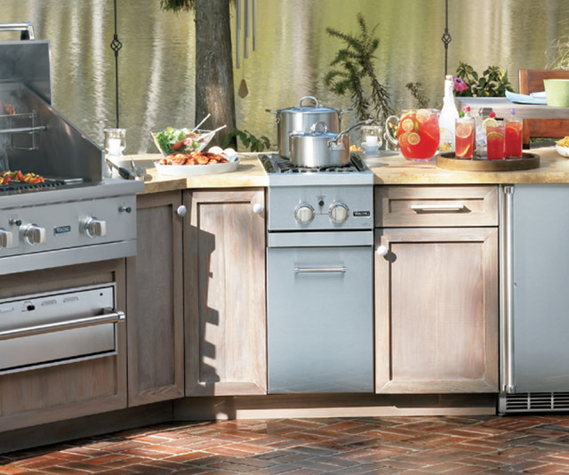 Viking outdoor kitchen viking vgsb5152nss 15 built in for Outdoor kitchen refrigerators built in