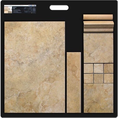 Travertine Effect - Porcelain traditional-wall-and-floor-tile