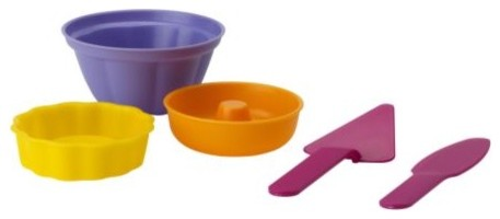 SANDIG 5-piece baking set modern kids toys