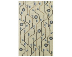 Capel Rugs Blue Bell Twining Area Rug contemporary-rugs