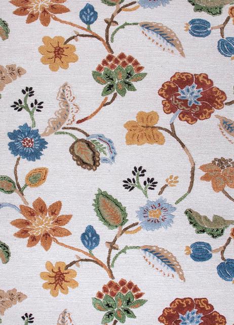 Jaipur Blue Garden Party BL33 RUG100445 Area Rug contemporary-rugs