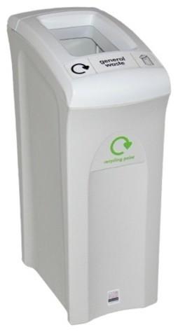 82 Litre Midi Recycling Bin - Open Slot modern-recycling-bins