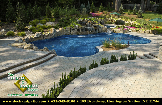 Patio, Patios, Stone and paver and brick patios, pool patios traditional pool