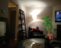 After - Drawing - Add a tree plant for spacial balance in the family room. traditional-interior-elevation