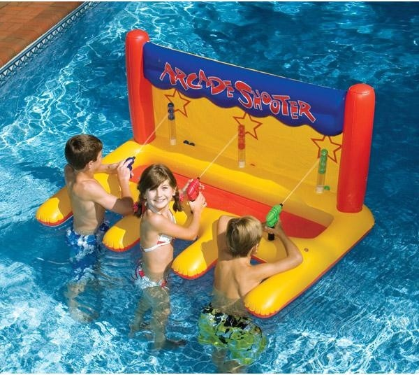 Arcade Shooter Inflatable Pool Toy contemporary-swimming-pools-and-spas