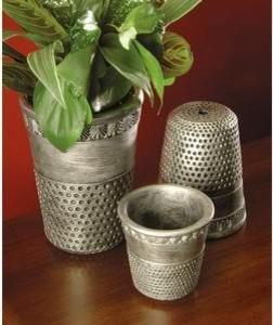 Thimble Pots eclectic-indoor-pots-and-planters