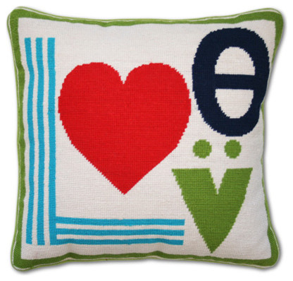 Mod Love Pillow eclectic pillows