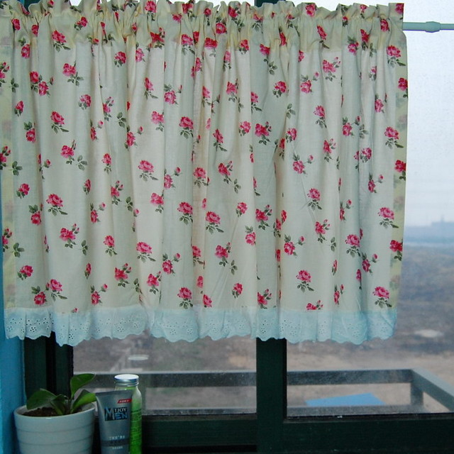 cute bears kitchen window curtain bathroom curtain modern shower curtains by sinofaucet