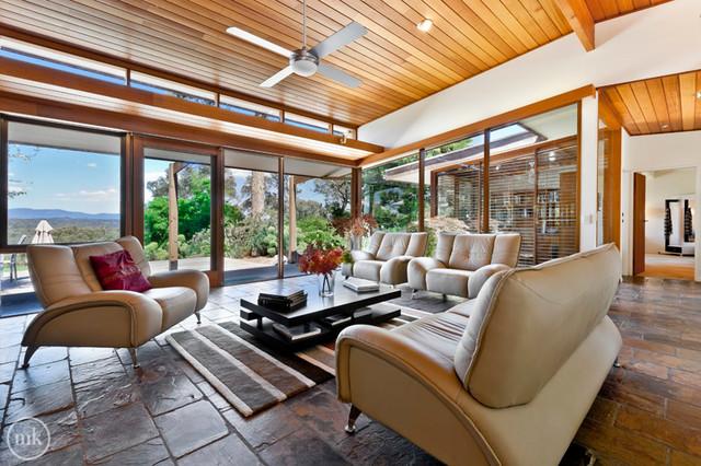 PARADISE contemporary-living-room