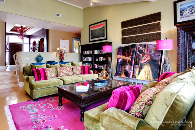 Eclectic & Colorful eclectic