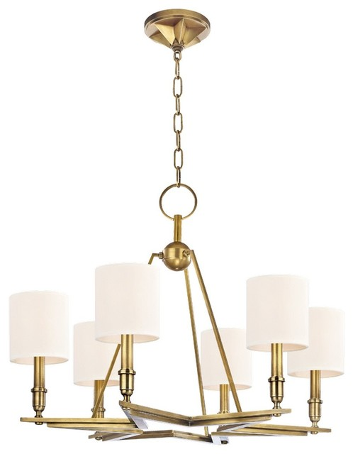 Hudson Valley Lighting Bethesda Transitional Chandelier X-SW-BGA-6804 transitional-lighting