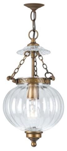 Crystorama Vienna Ornate Hanging Fixture 5781-AB traditional-pendant-lighting