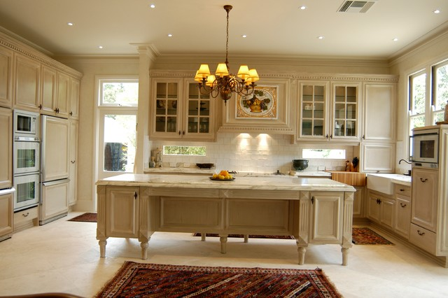 Queenscliff french provincial kitchen traditional melbourne by